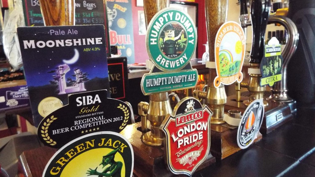The Beehive Quiz - with real ales on tap